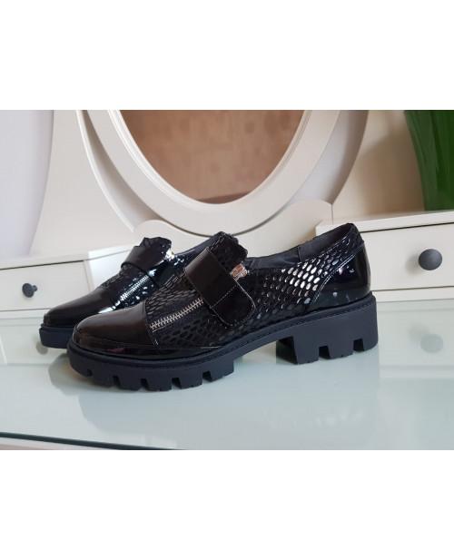 Pantofi piele naturala Siena V76 - marimea 40