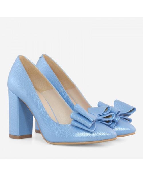 Pantofi piele blue sidef Catina D101 - sau Orice Culoare