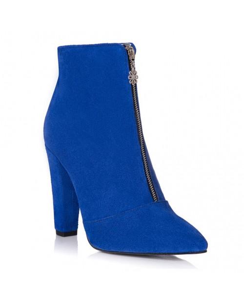 Botine dama Edina blue L13 - sau Orice Culoare