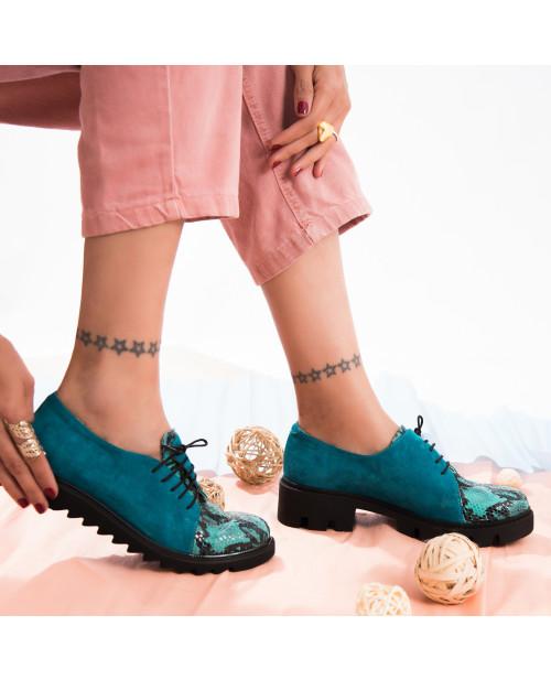 Pantofi Oxford piele naturala Attitude V31  - sau Orice Culoare