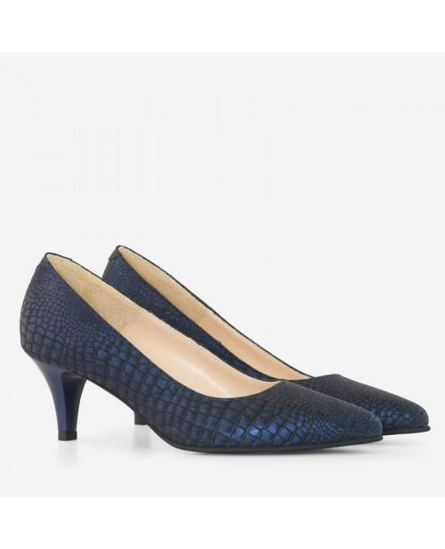 Pantofi Barletto piele naturala D45