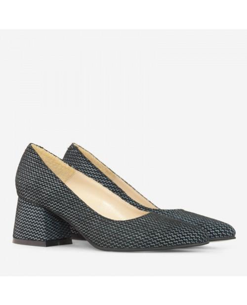 Pantofi cu buline Egreta D11