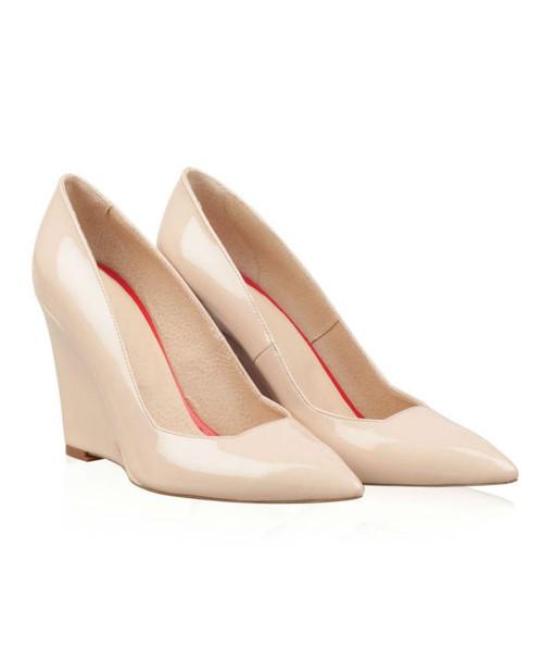 Pantofi cu talpa ortopedica Nude Heart N2 -sau Orice Culoare