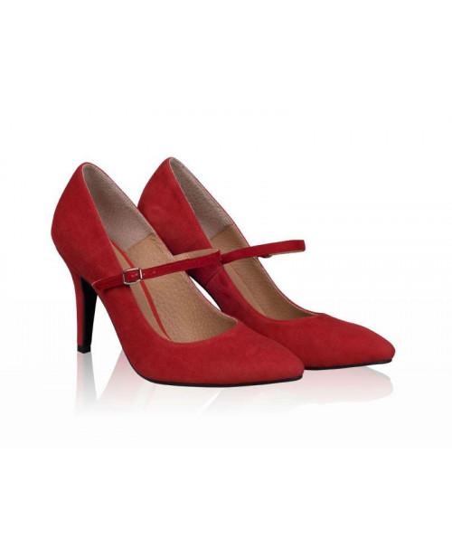 Pantofi online Model Cu Bareta, rosu-sau Orice Culoare