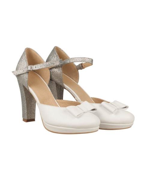 Pantofi Evi piele naturala N71