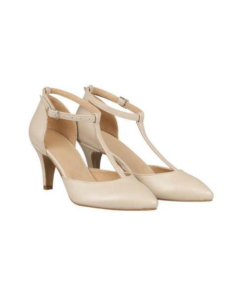 Pantofi mireasa Iamina Bej N60