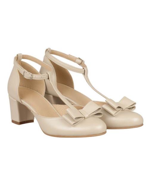 Pantofi dama Rita bej N100