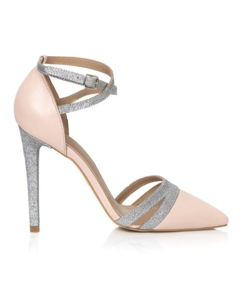 Pantofi nude din piele naturala Selia L9 - sau Orice Culoare