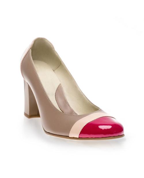 Pantofi Office Elegance piele V07-sau Orice Culoare