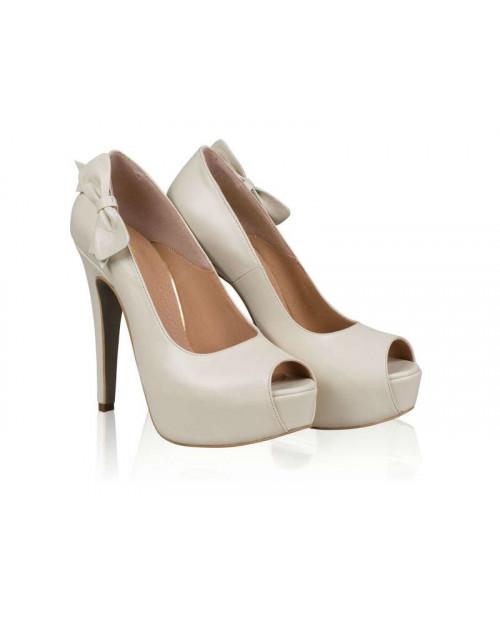 Pantofi piele Beth N75 - sau Orice Culoare