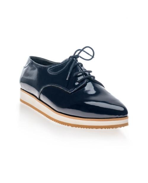 Pantofi Oxford Carolyn piele varf ascutit V2-sau Orice Culoare
