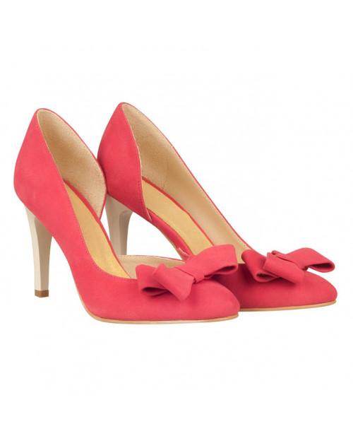 Pantofi piele Stiletto Carol N93 - sau Orice Culoare