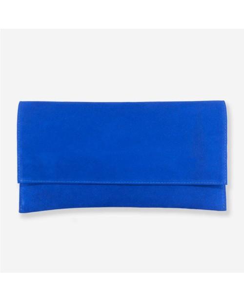 Plic din piele intoarsa albastru D11 - sau Orice Culoare
