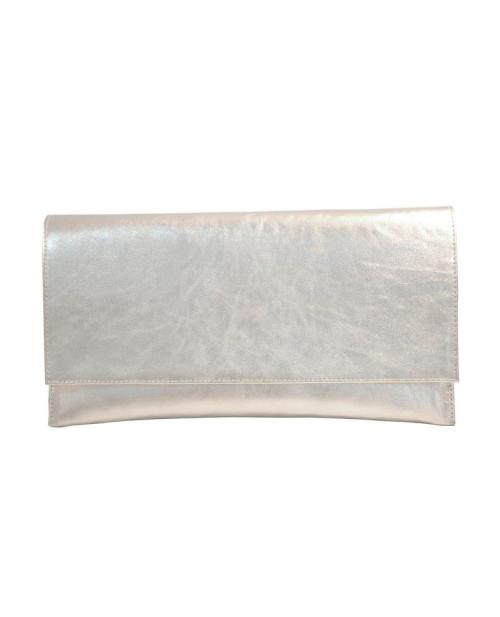 Plic din piele naturala argintiu-sau Orice Culoare