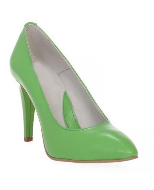 Pantofi dama Mini Stiletto, verde-sau Orice Culoare