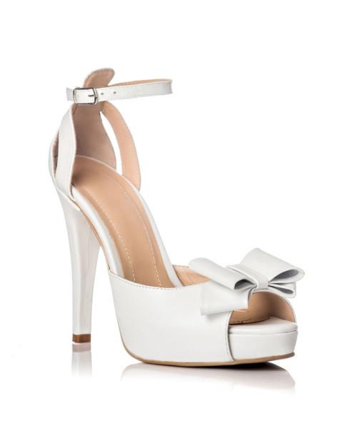 Sandale White Details cu funda G101 - sau orice culoare
