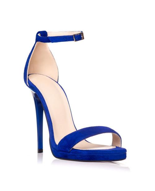 Sandale piele naturala Daydream albastru electric S3 - sau orice culoare