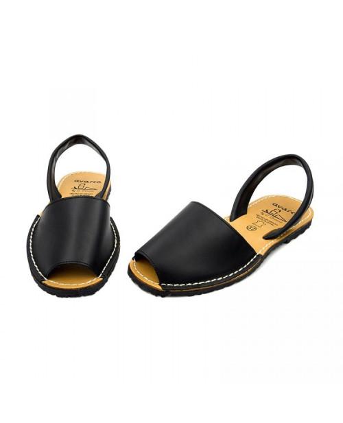 Sandale piele Avarca negre