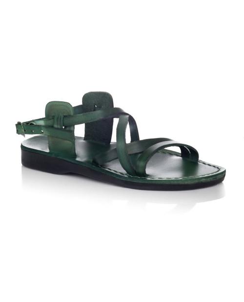 Sandale romane model unisex verde