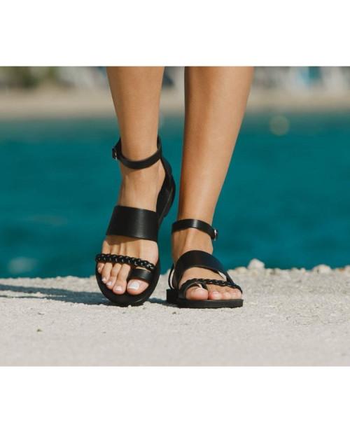 Sandale piele Violeta
