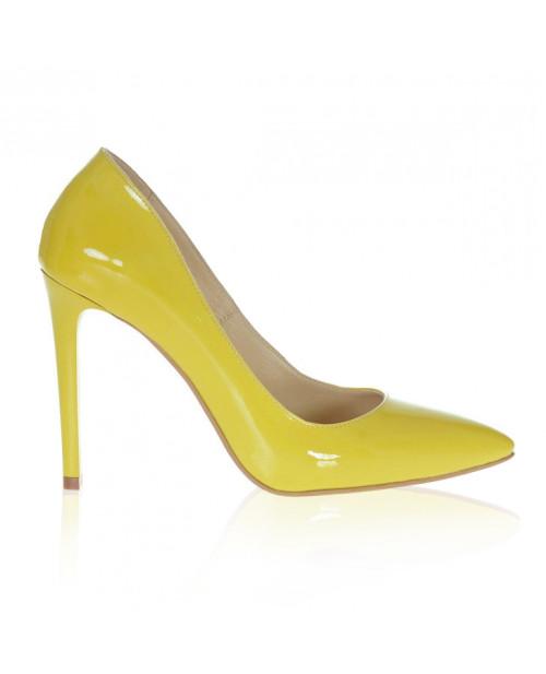 Pantofi Stiletto galben Lucy S111 - sau Orice Culoare