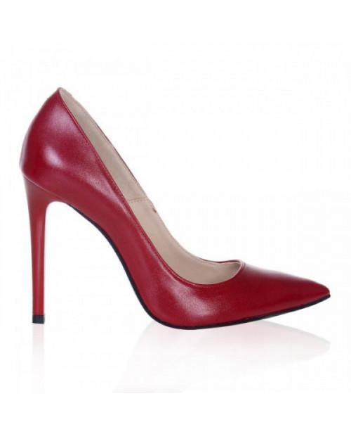 Pantofi Stiletto rosu Lucy S61 - sau Orice Culoare
