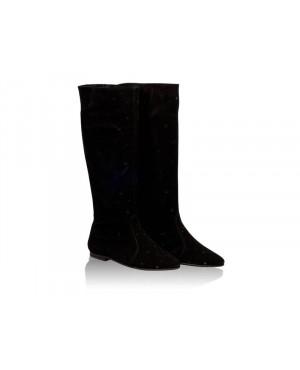 Cizme negre de vara Candy N109 - sau Orice Culoare