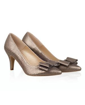 Pantofi aramii din piele naturala Ingrid N109 - sau Orice Culoare