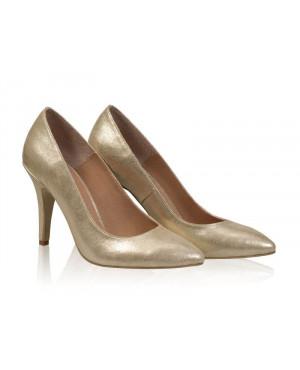Pantofi dama Model AF Stiletto, auriu-sau Orice Culoare