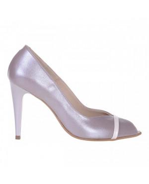 Pantofi din piele naturala Discret S33 - sau Orice Culoare