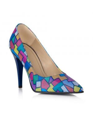 Pantofi Stiletto Emotion din piele naturala V15 - sau Orice Culoare