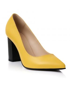 Pantofi online Stiletto Chic Galben S1 -sau Orice Culoare