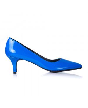 Pantofi online Stiletto Milano, albastru lac - sau orice culoare