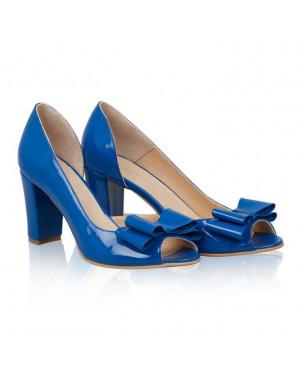 Pantofi Simply Diva albastru electric N21 -sau Orice Culoare