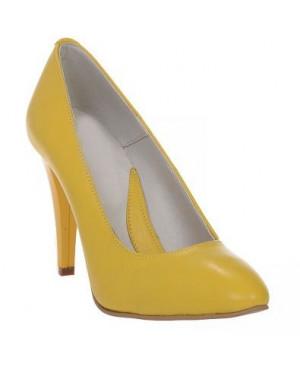 Pantofi dama Mini Stiletto, galben-sau Orice Culoare