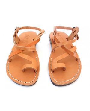 Sandale romane unisex Summer Deget Camel