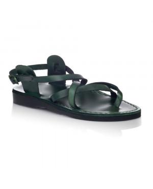Sandale romane model unisex summer verzi