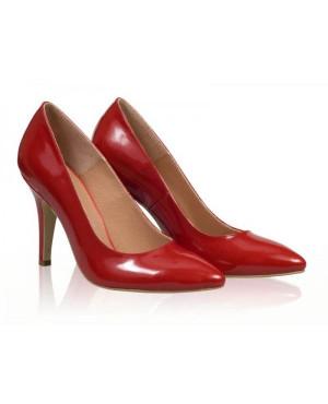 Pantofi dama Model AF Stiletto, rosu-sau Orice Culoare