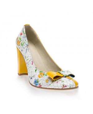 Pantofi Office Summer piele V23-sau Orice Culoare