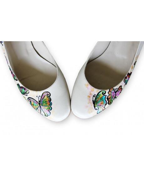 Balerini pictati manual Butterfly-sau Orice Culoare
