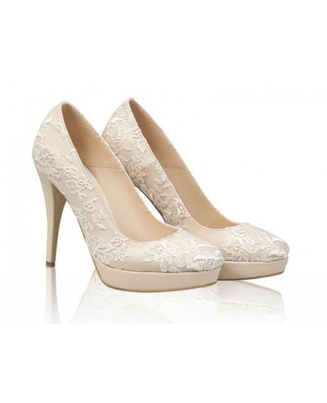 Pantofi mireasa - AF3 Dantela-sau Orice Culoare