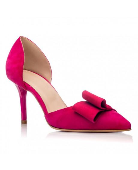 Pantofi Stiletto Papillion Ciclam C1 - sau Orice Culoare