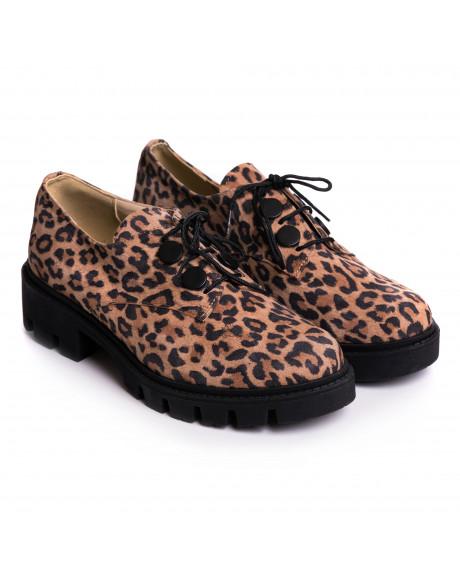 Pantofi piele Oxford Anabel V111