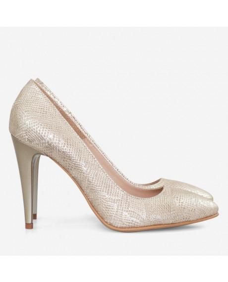 Pantofi piele Stiletto Ando D02