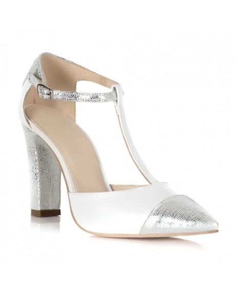 Pantofi cu imprimeu piele Anita S155