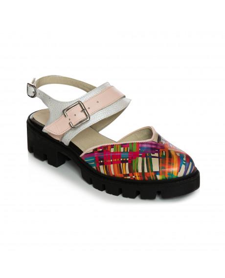 Pantofi piele Color Ingrid V75 - sau Orice Culoare