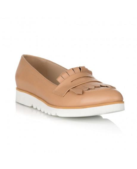 Pantofi cu talpa joasa Martin cappuccino S20 - sau Orice Culoare