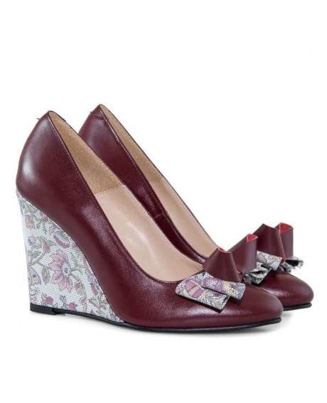 Pantofi cu toc ortopedic Naty D11 - sau Orice Culoare