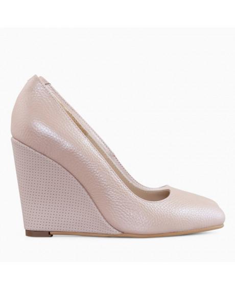 Pantofi cu toc ortopedic Naty Rose D77