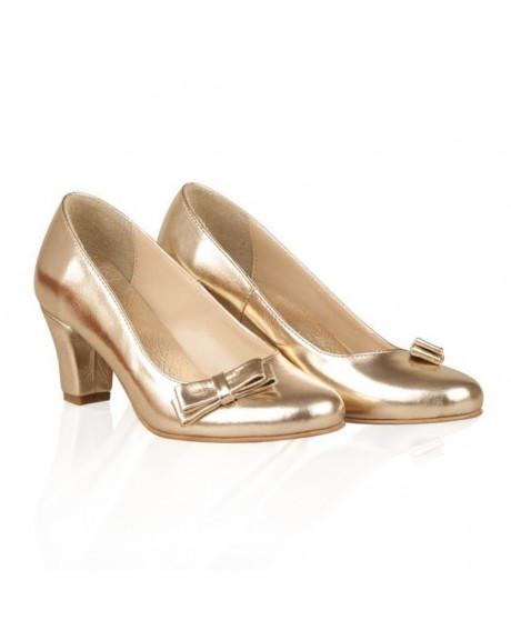 Pantofi dama Elisa auriu N17